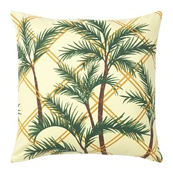 SOMMAR 2020 - Cushion cover, light yellow/multicolour