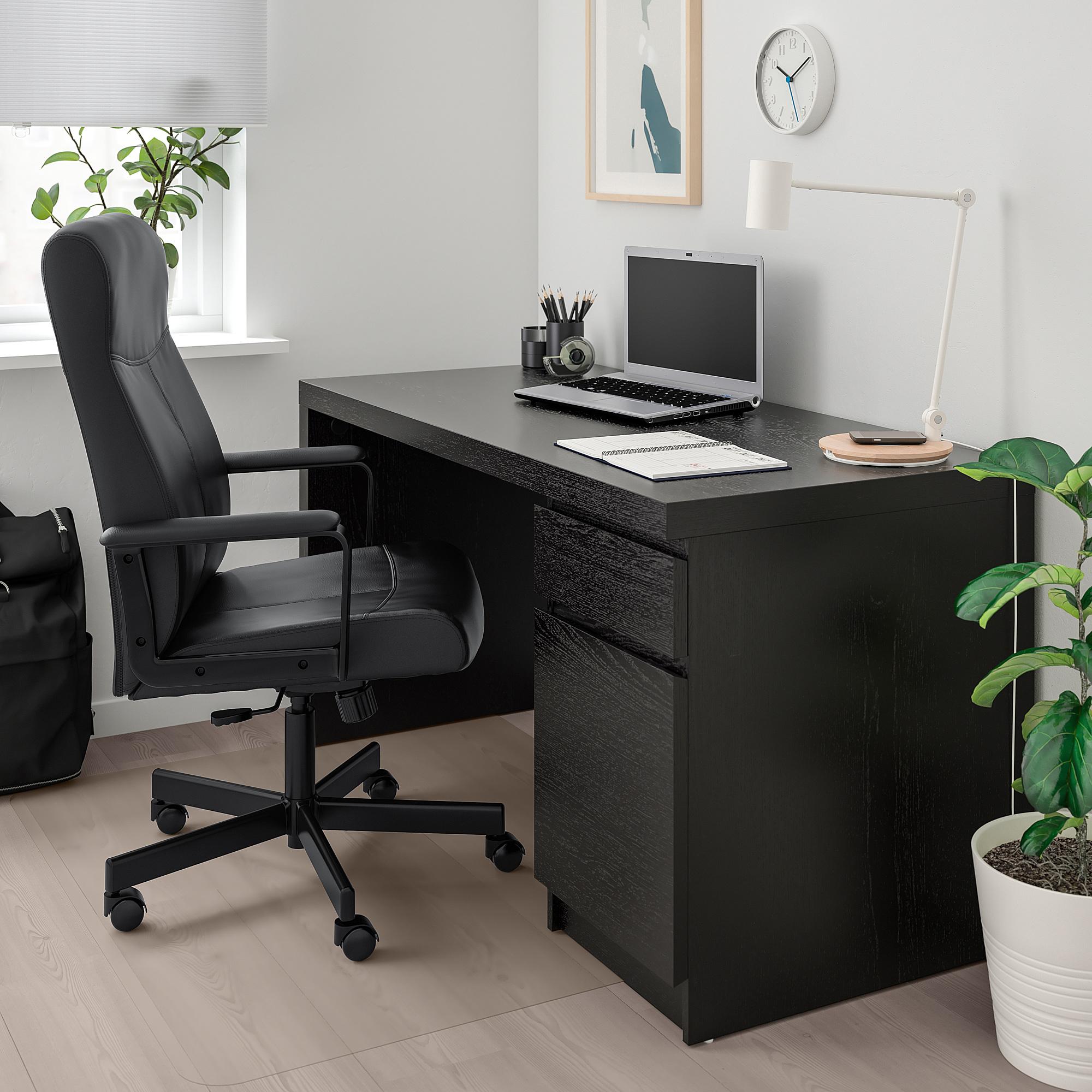 Millberget Swivel Chair Bomstad Black Ikea Indonesia