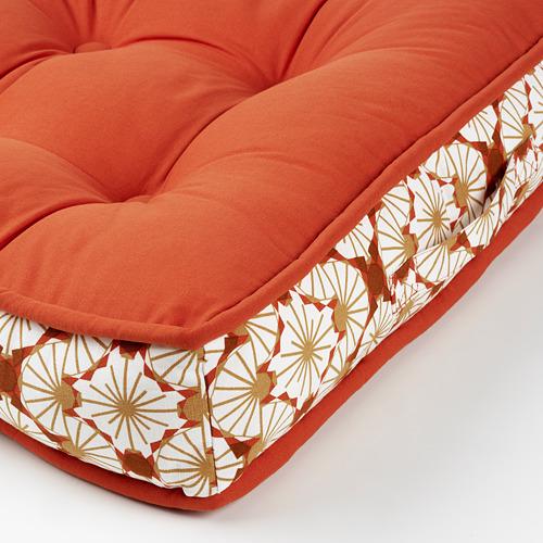 LJUVARE - bantal lantai, oranye, 48x48 cm   IKEA Indonesia - PE803494_S4