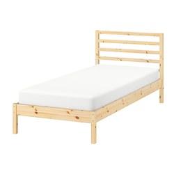 TARVA - Rangka tempat tidur, kayu pinus/Luröy