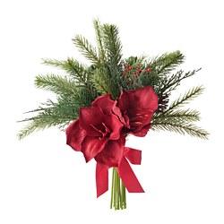 VINTERFEST - Artificial bouquet, red