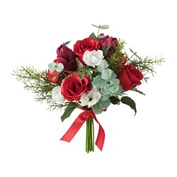 VINTERFEST - Artificial bouquet, red
