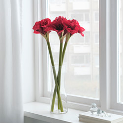 VINTERFEST - Artificial flower, Amaryllis/red