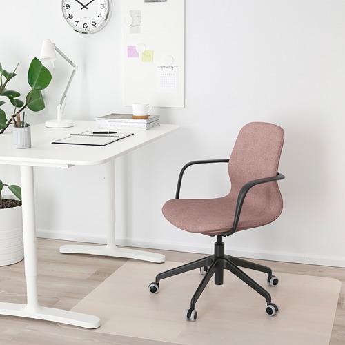 LÅNGFJÄLL office chair with armrests