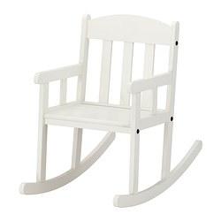 SUNDVIK - Kursi goyang, putih