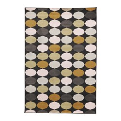 TORRILD - Karpet, bulu tipis, aneka warna