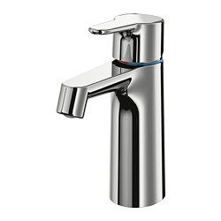 BROGRUND - Wash-basin mixer tap with strainer, chrome-plated