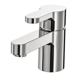 ENSEN - Wash-basin mixer tap with strainer, chrome-plated