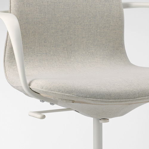 LÅNGFJÄLL conference chair with armrests