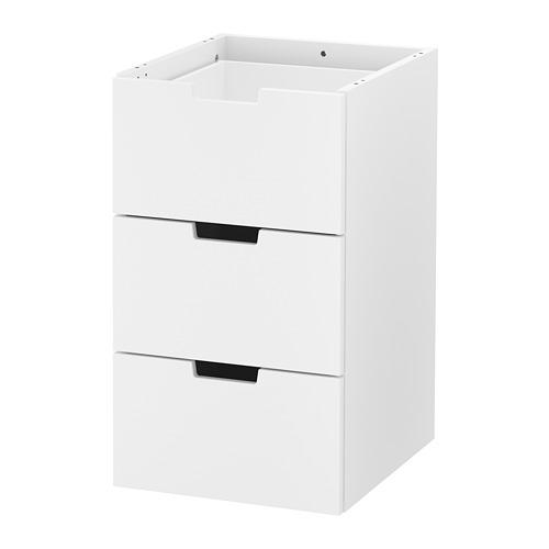 NORDLI lemari 3 laci modular