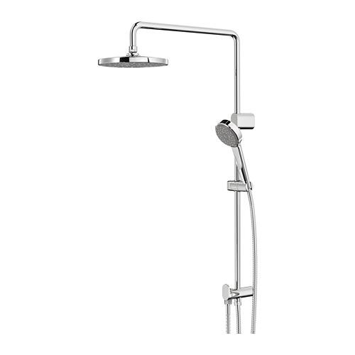 BROGRUND - head/handshower kit with diverter, chrome-plated   IKEA Indonesia - PE748334_S4