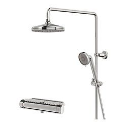 VOXNAN - Set shower dg mixer thermostatic, dilapisi krom