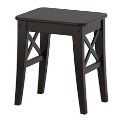 INGOLF - Stool, brown-black