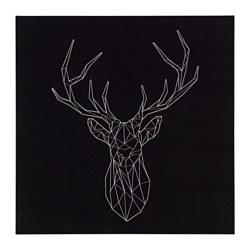 PJÄTTERYD - Picture, silver deer