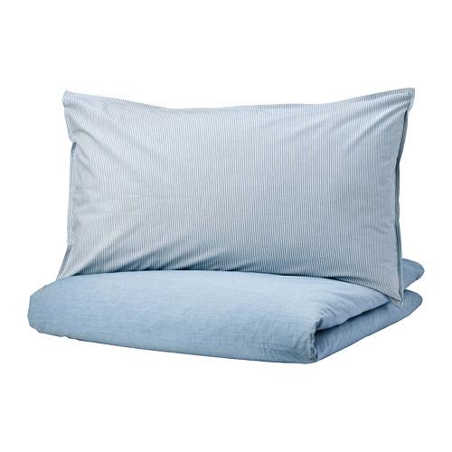 BLÅVINDA duvet cover and pillowcase