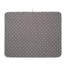 LEN - Babycare mat, dotted/grey
