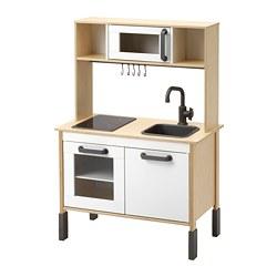 DUKTIG - Dapur mainan, kayu birch, 72x40x109 cm