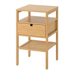NORDKISA - Bedside table, bamboo