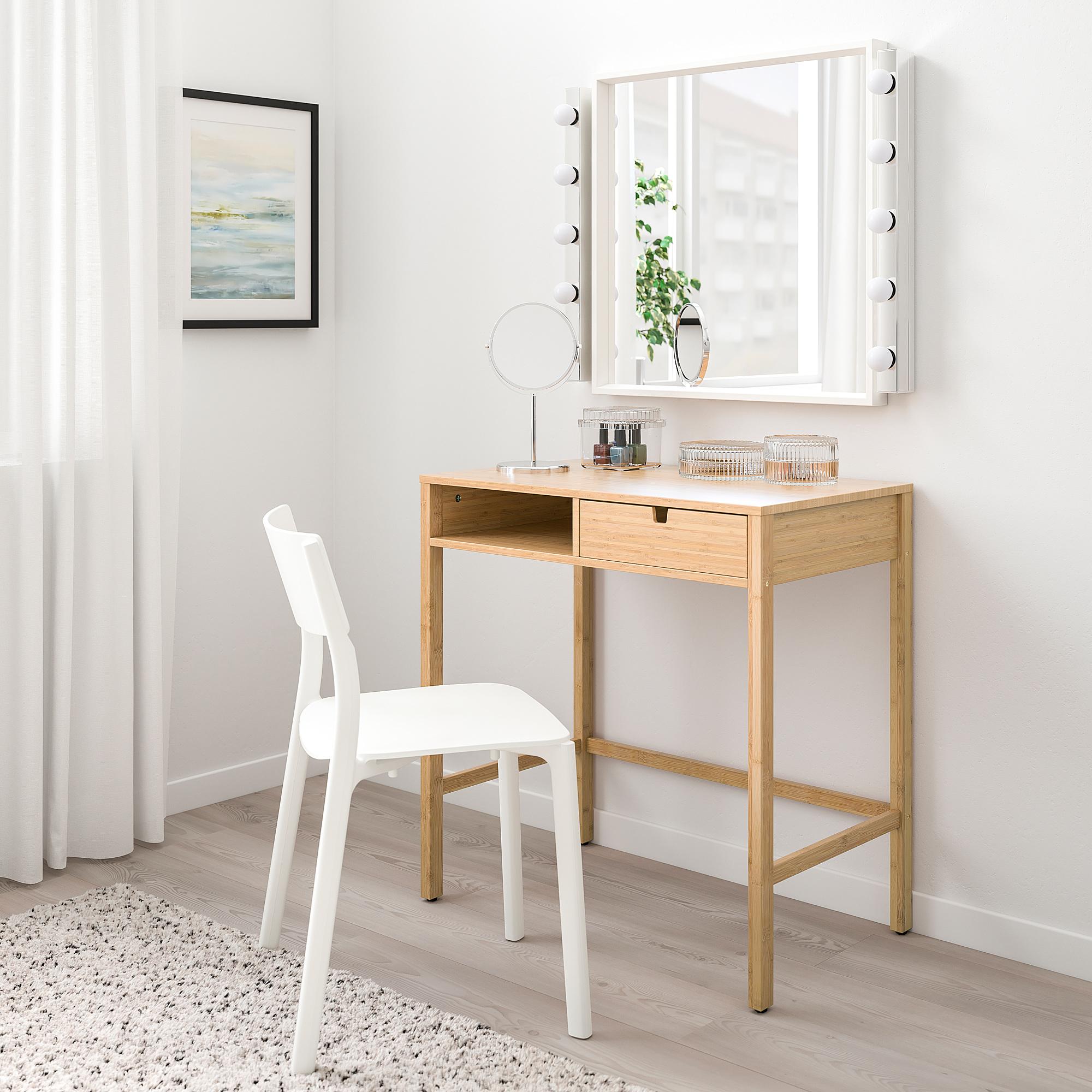 Nordkisa Dressing Table Bamboo Ikea Indonesia