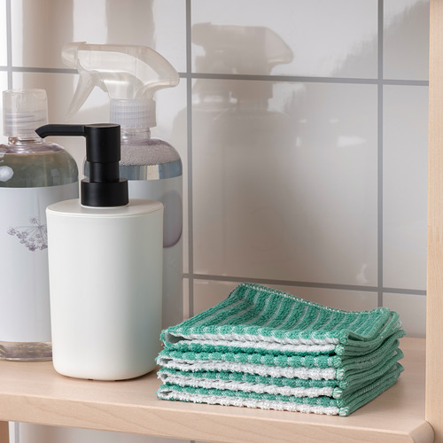 VÅRFINT - dish-cloth, patterned, 25x25 cm   IKEA Indonesia - PE804481_S4