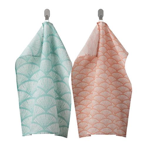 VÅRFINT - tea towel, patterned, 45x60 cm | IKEA Indonesia - PE804485_S4