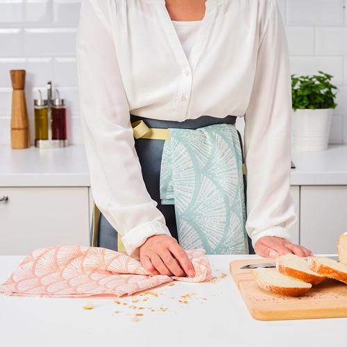 VÅRFINT - tea towel, patterned, 45x60 cm | IKEA Indonesia - PE804486_S4