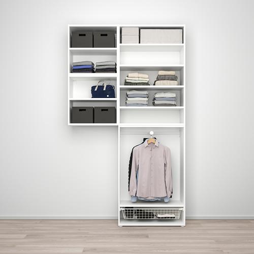 PLATSA wardrobe w 6 doors