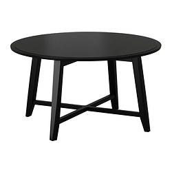 KRAGSTA - Meja tamu, hitam