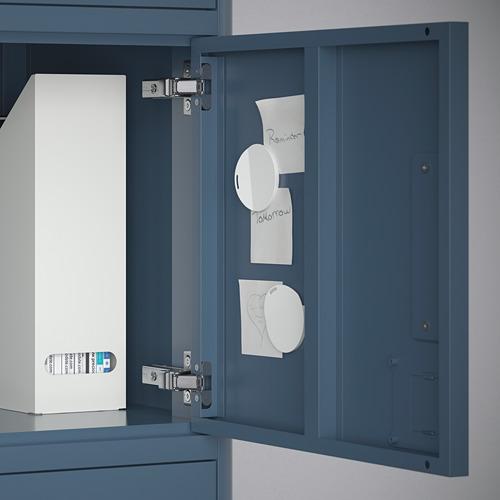 IDÅSEN kabinet tinggi dengan laci+pintu