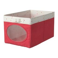 NÖJSAM - Kotak, merah cerah