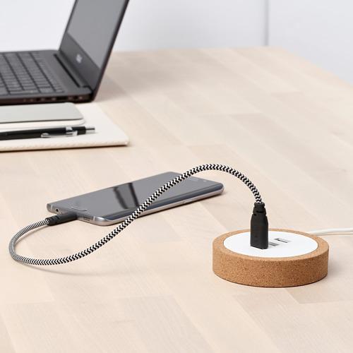 LILLHULT micro-USB untuk kabel USB