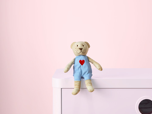 FABLER BJÖRN - soft toy, beige, 21 cm | IKEA Indonesia - PH143108_S4