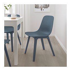 ODGER - Chair, blue
