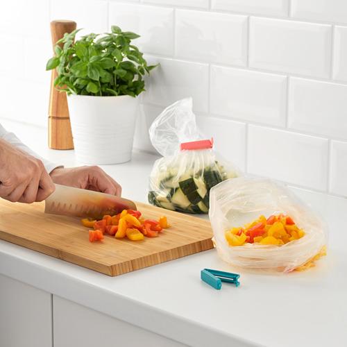 BEVARA - klip penutup plastik, set isi 30, warna campuran/ukuran campuran | IKEA Indonesia - PE805001_S4