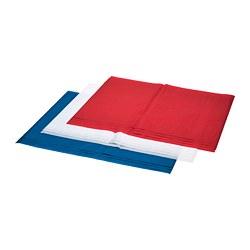 VINTER 2019 - Kertas tisu, putih merah/biru
