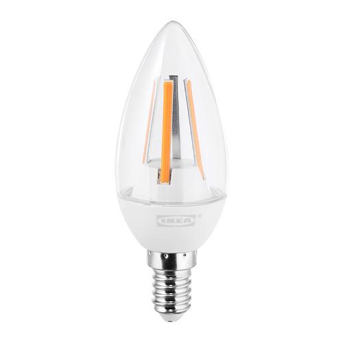LEDARE bohlam LED E14 400 lumen