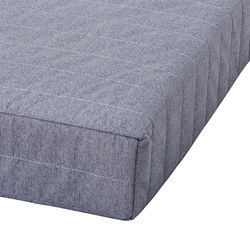 BEITO - Sprung mattress, light grey