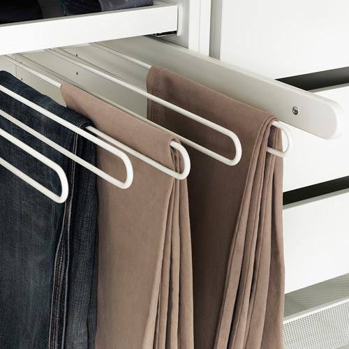 KOMPLEMENT - gantungan tarik untuk celana, putih, 100x58 cm | IKEA Indonesia - PE378172_S4