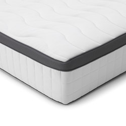 FILLAN - Pocket sprung mattress, firm/white, 180x200 cm