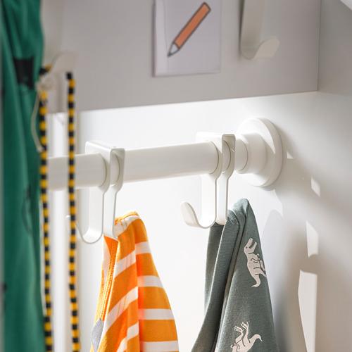 SMÅSTAD lemari pakaian dg unit tarik