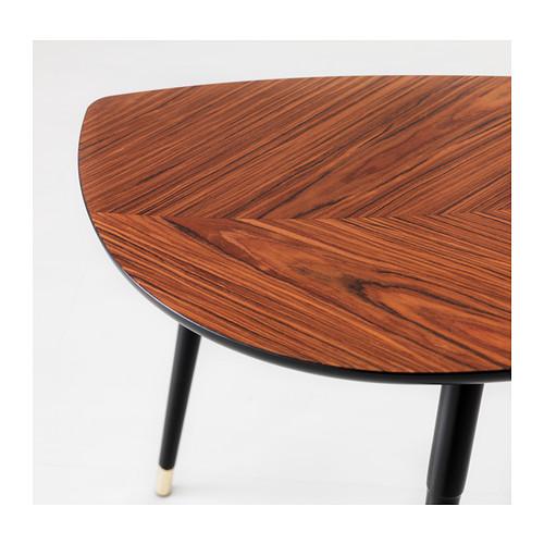 LÖVBACKEN - meja samping, cokelat medium, 77x39 cm | IKEA Indonesia - PE402023_S4