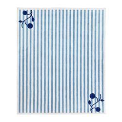GULSPARV - Karpet, garis-garis biru/putih