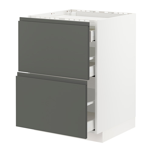 METOD/MAXIMERA kab dasar u kompor/2 bag dpn/3 laci