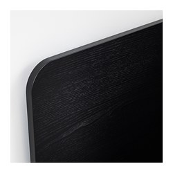 DELAKTIG - Headboard, black