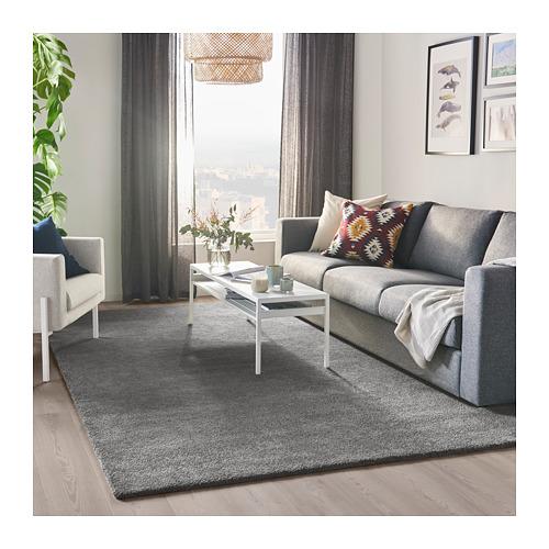 STOENSE karpet, bulu tipis