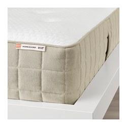 HIDRASUND - Pocket sprung mattress, medium firm/natural
