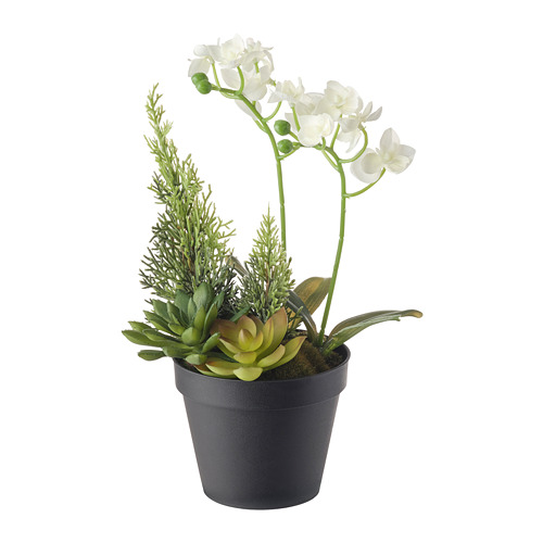 VINTERFEST tanaman gantung tiruan dalam pot