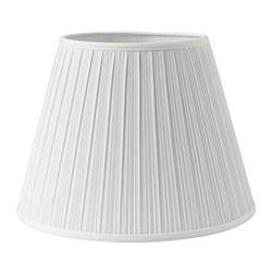 MYRHULT - Kap lampu, putih, 33 cm