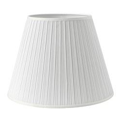 MYRHULT - Kap lampu, putih, 42 cm