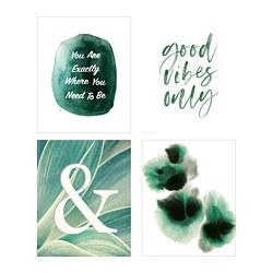 BILD - Poster, Green vibes